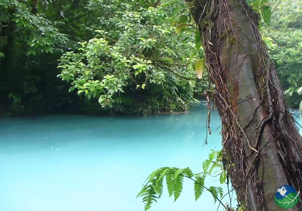 Rio Celeste Costa rica Blue Water