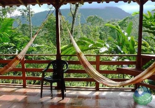 Selva Bananito Lodge Balcony