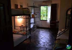 Tirimbina Lodge Bunk Bedroom