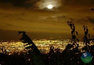 escazu night view