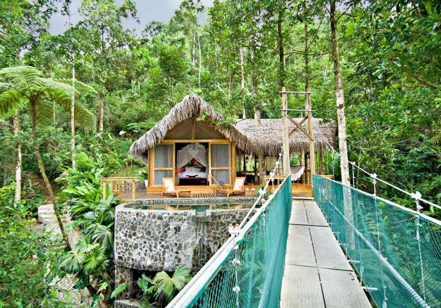 Pacuare Lodge Honeymoon Suite Exterior