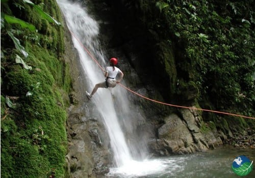 canyoning costa rica arenal