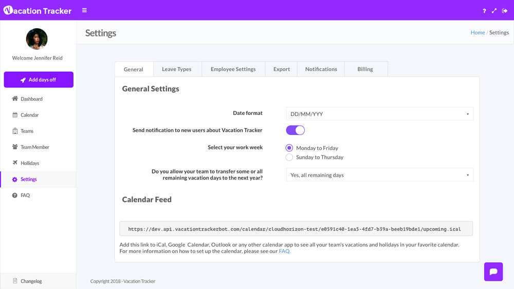 Vacation Tracker - Manage your team\u0027s time off with Slack
