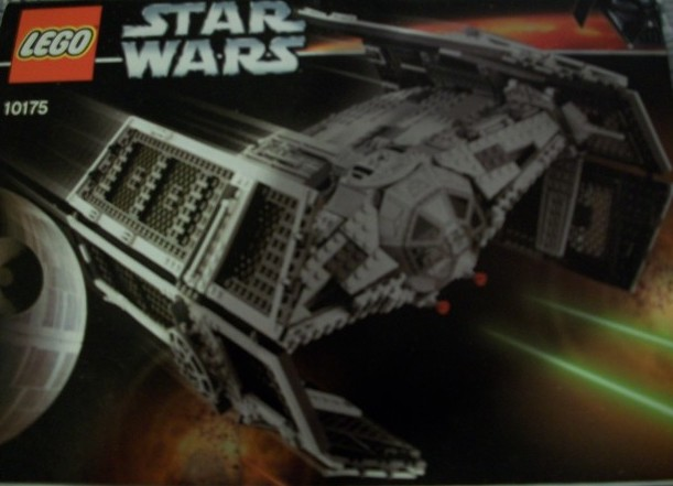Star Wars LEGO Darth Vaders Advanced Tie Fighter 10175