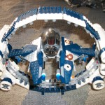 Star Wars LEGO Jedi Starfighter With Hyperdrive Booster Ring 7661