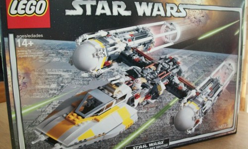 Ultimate Collectors Series Y-Wing Attack Fighter 10134