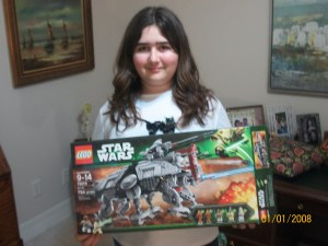 My daughter with the 75019