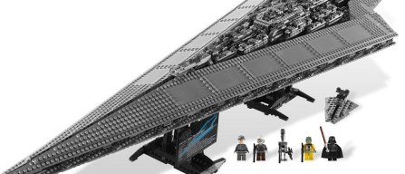 LEGO Star Wars real time build set 10221 Imperial Star Destroyer