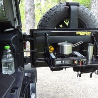 Jeep Tailgate Molle Table