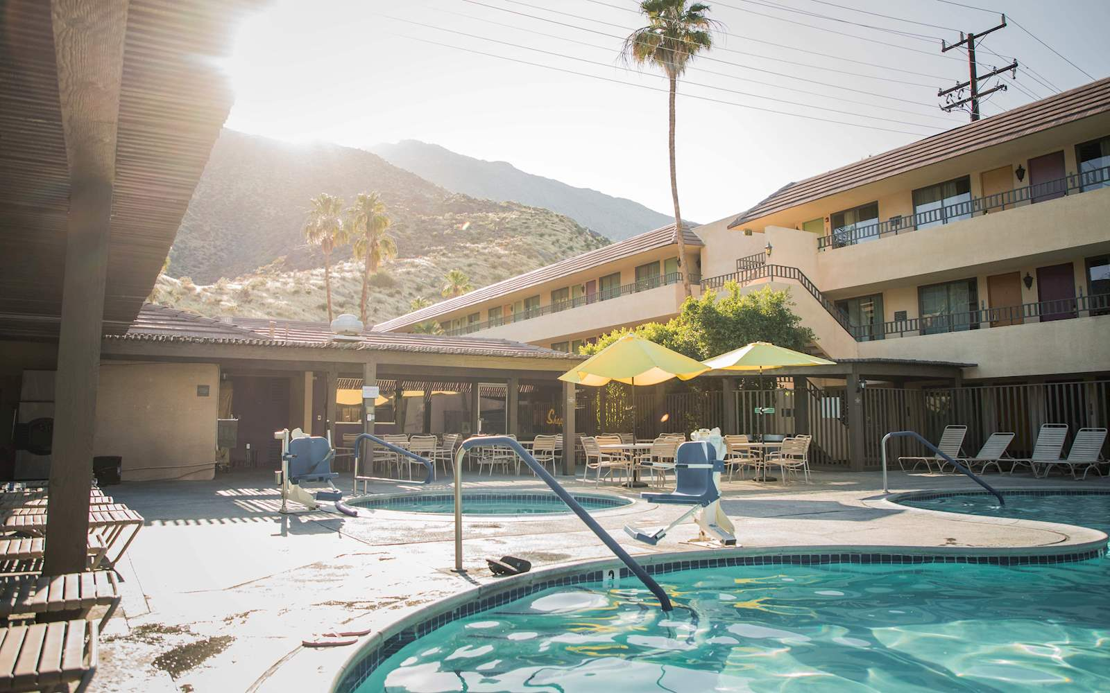 Hotel Goedkope Palm Springs Hotel Vagabond Inn Palm Springs