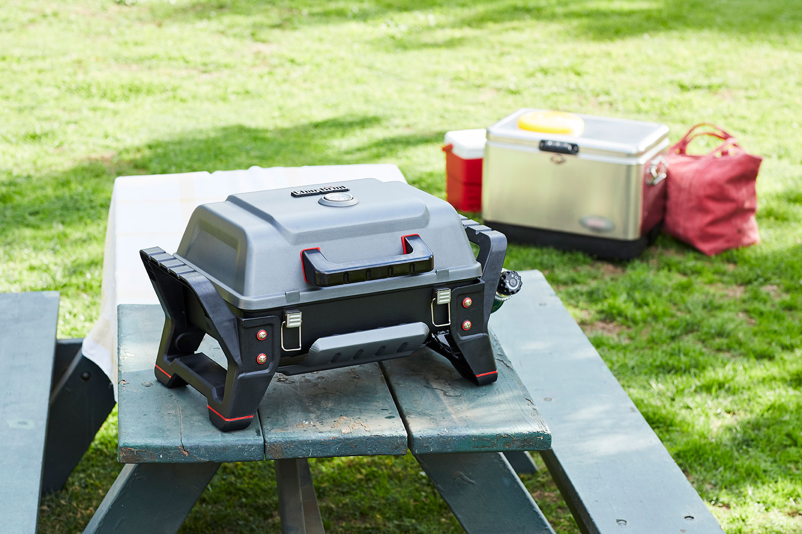 Broil Gasgrill Char Broil Grill2go X200 The Perfectly Portable Gas Grill For Car