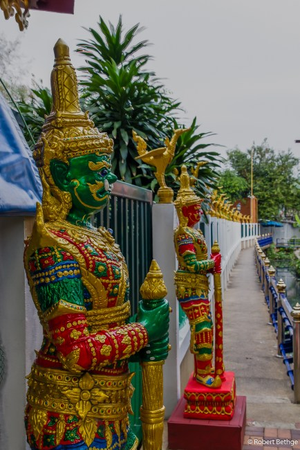 Guards at Wat Arun