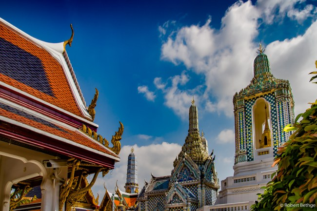royal palace of bangkok, thailand