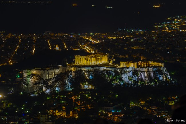 Akropolis from Mount Lycabettus