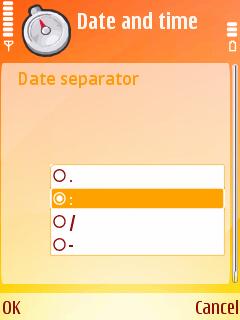 DateSeparator
