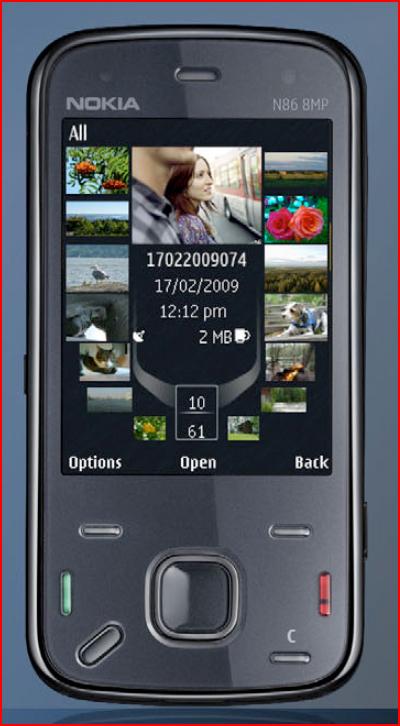 Nokia N86 Leaked
