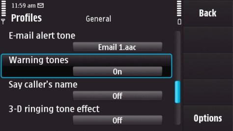 how to turn the sound off on fb