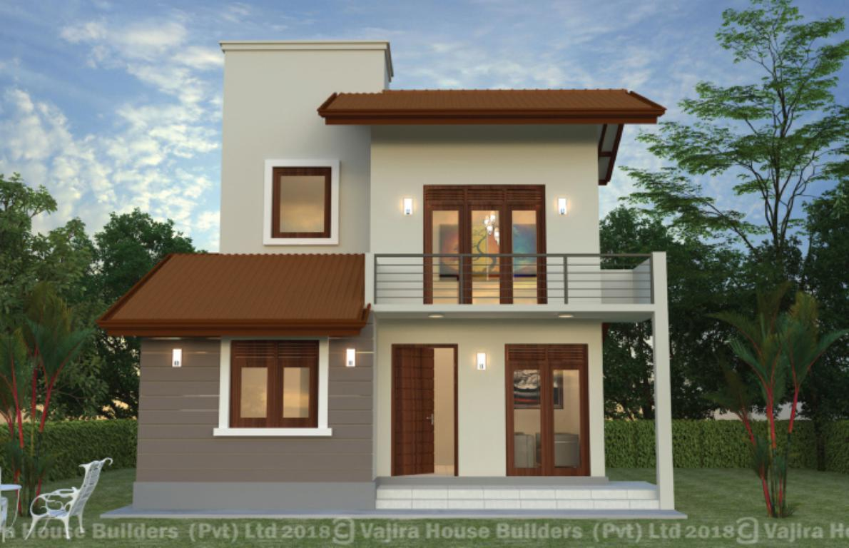Home Design In Sri Lanka Two Storey Vajira House Builders Private Limited Best House