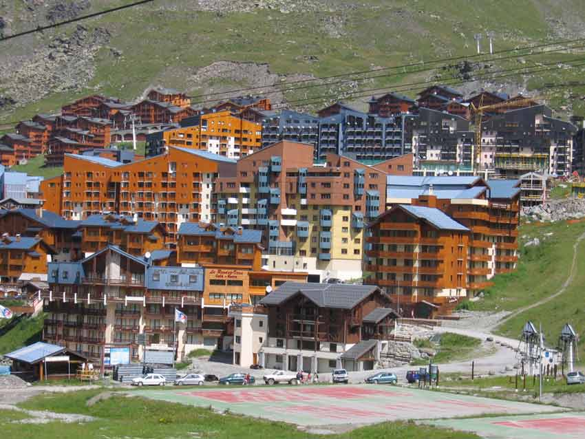 Lit Coffre Bois Location Val Thorens, Val Thorens Location Appartement