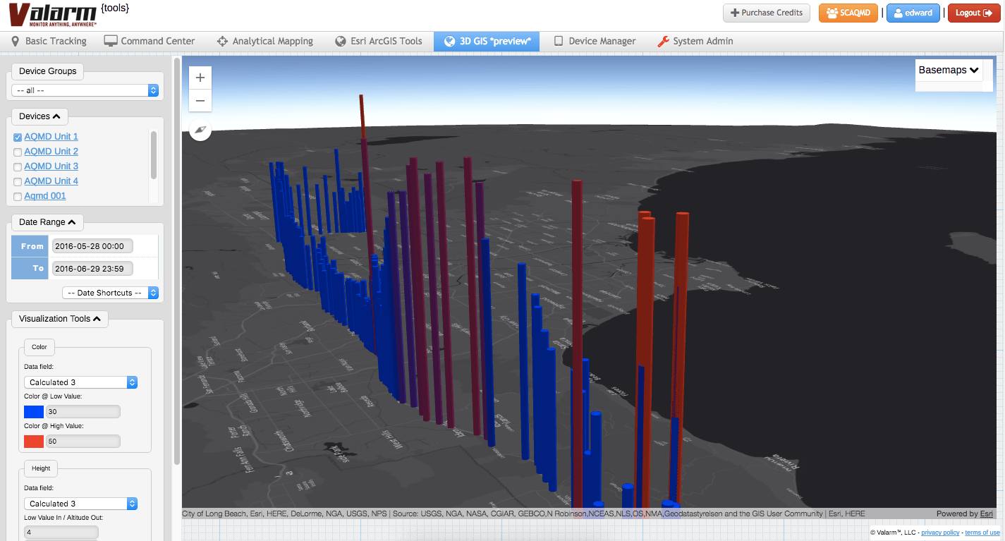 Javascript Cloud Tools Valarm Esri 3d Maps With Arcgis Your Organization S