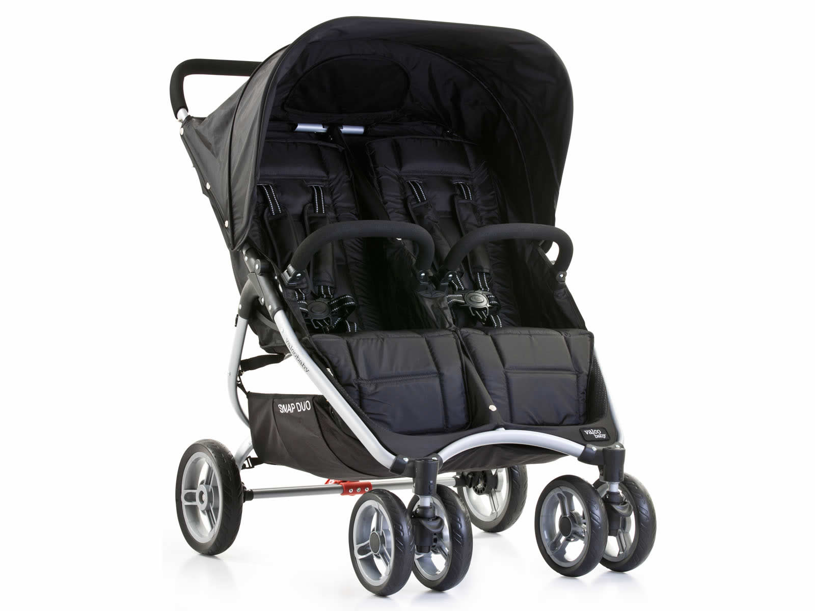 Lightweight Twin Pram Snap Duo Valco Baby Spain