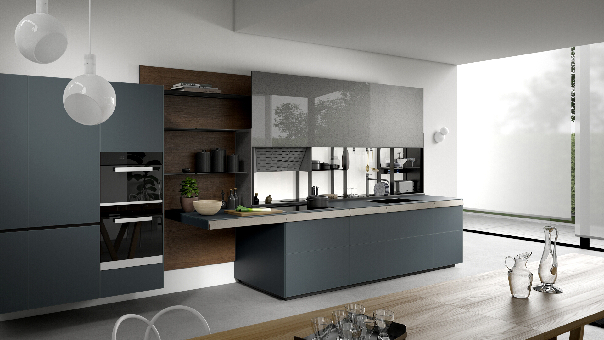 Cucina The Kitchen Company Valcucine Modern And Fitted Designer Italian Kitchens