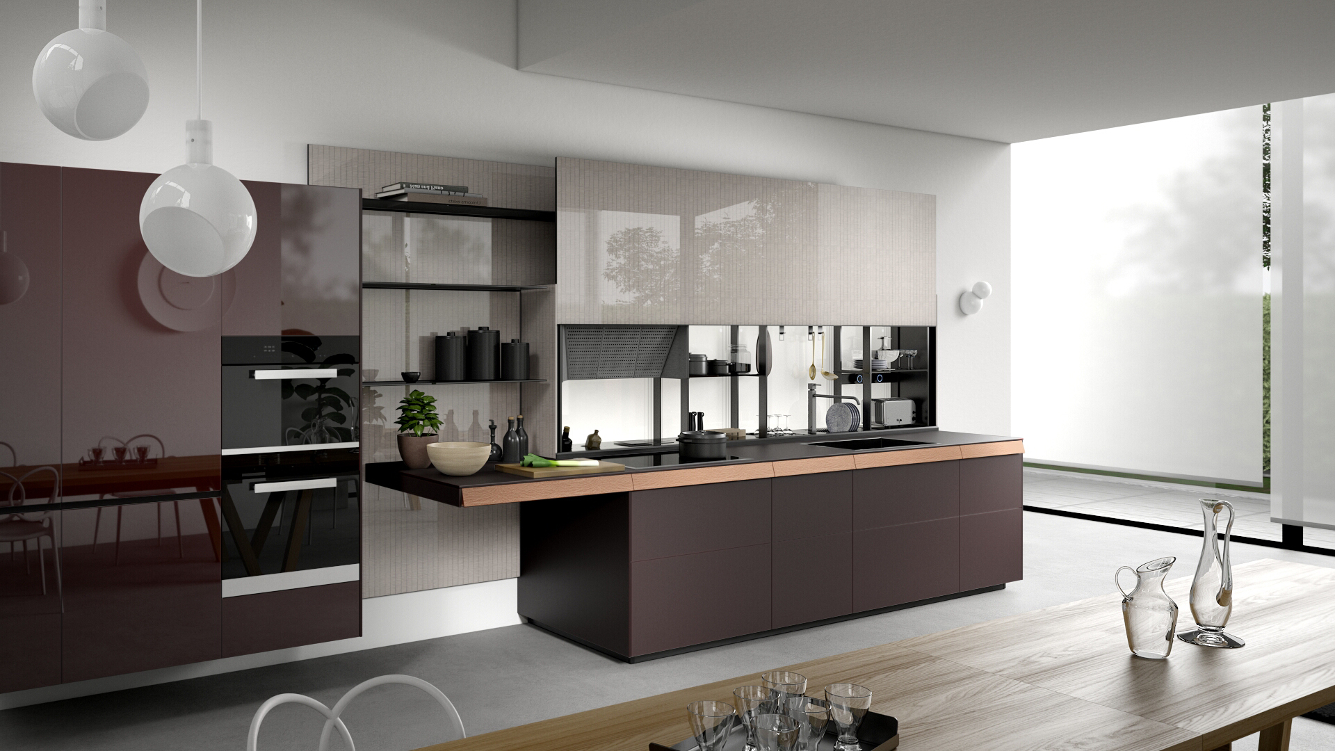 Küche Industrial Design Valcucine Modern And Fitted Designer Italian Kitchens
