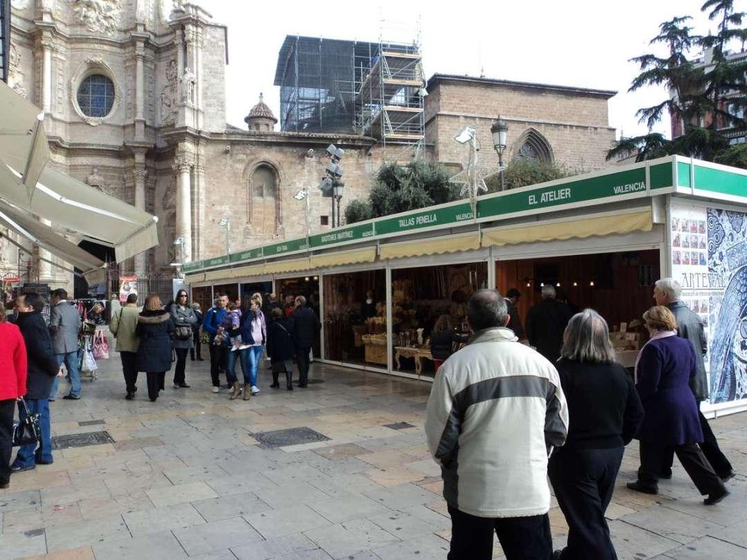 Feria de Artesanía de Navidad de Valencia