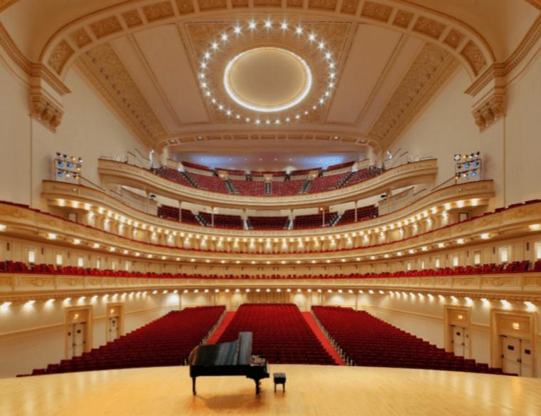 Carnegie Hall, by Alex R. Travers Fuente: questmag.com
