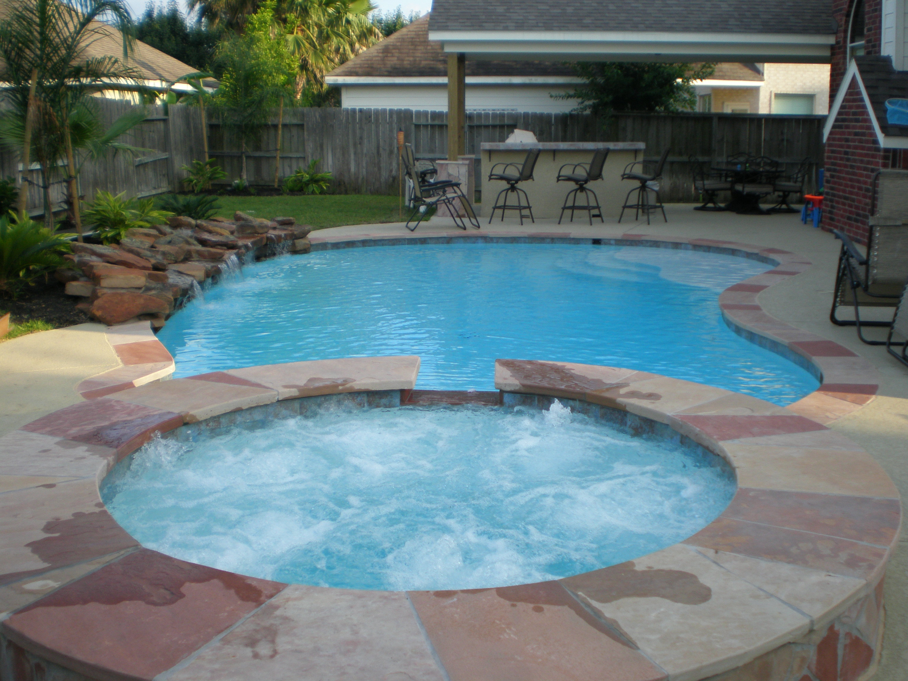 Jacuzzi Pool Gspa Huge Landscape Idea Pools And Landscaping Ideas Drought