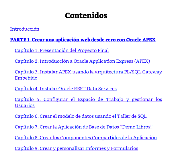 Libro Ebook Contenidos_oracle Apex 5.1 - El Blog De Valentina Truneanu