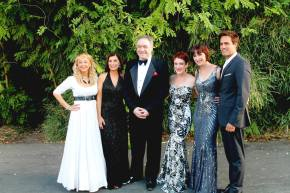 Christina Saffran, Larry Blank, Lisa Vroman, Susan Egan, David Burnham