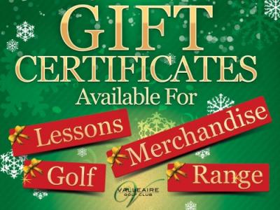 Any Value Gift Certificate