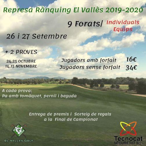 Nou Rànquing El Vallès 2019-2020
