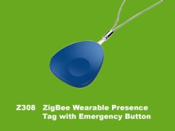 Z-308-Z308 ZigBee Wearable Presence Tag with Emergency Button