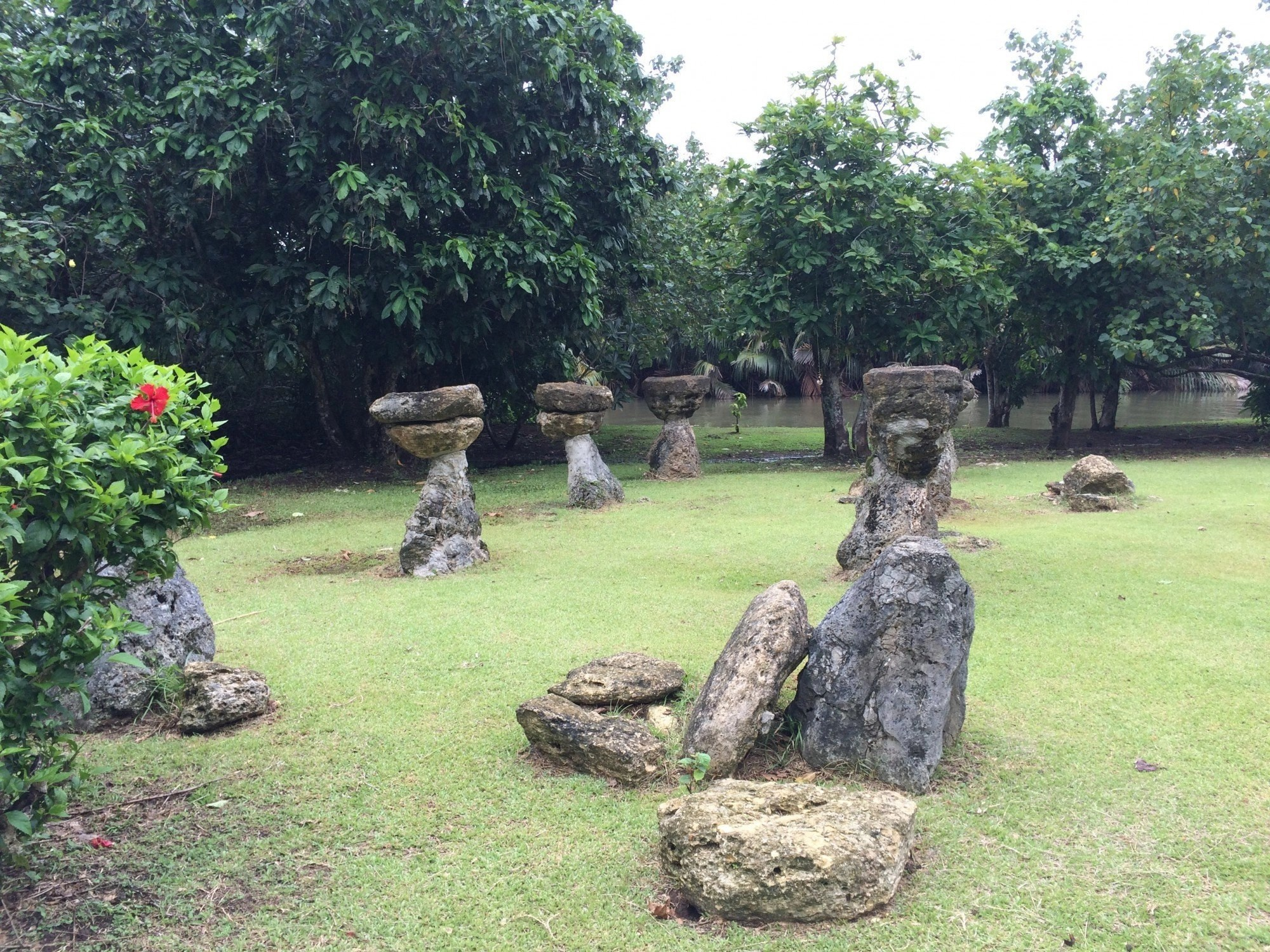 Ancient Chamorro Latte Site and Botanical Gardens Valley of the Latte Adventure Park Guam