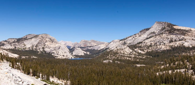 Day Two: Tenaya Lake on our way out of Yosemite National Park
