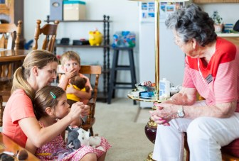 Day Nine: Surprise visit with Great Grandma Gladys