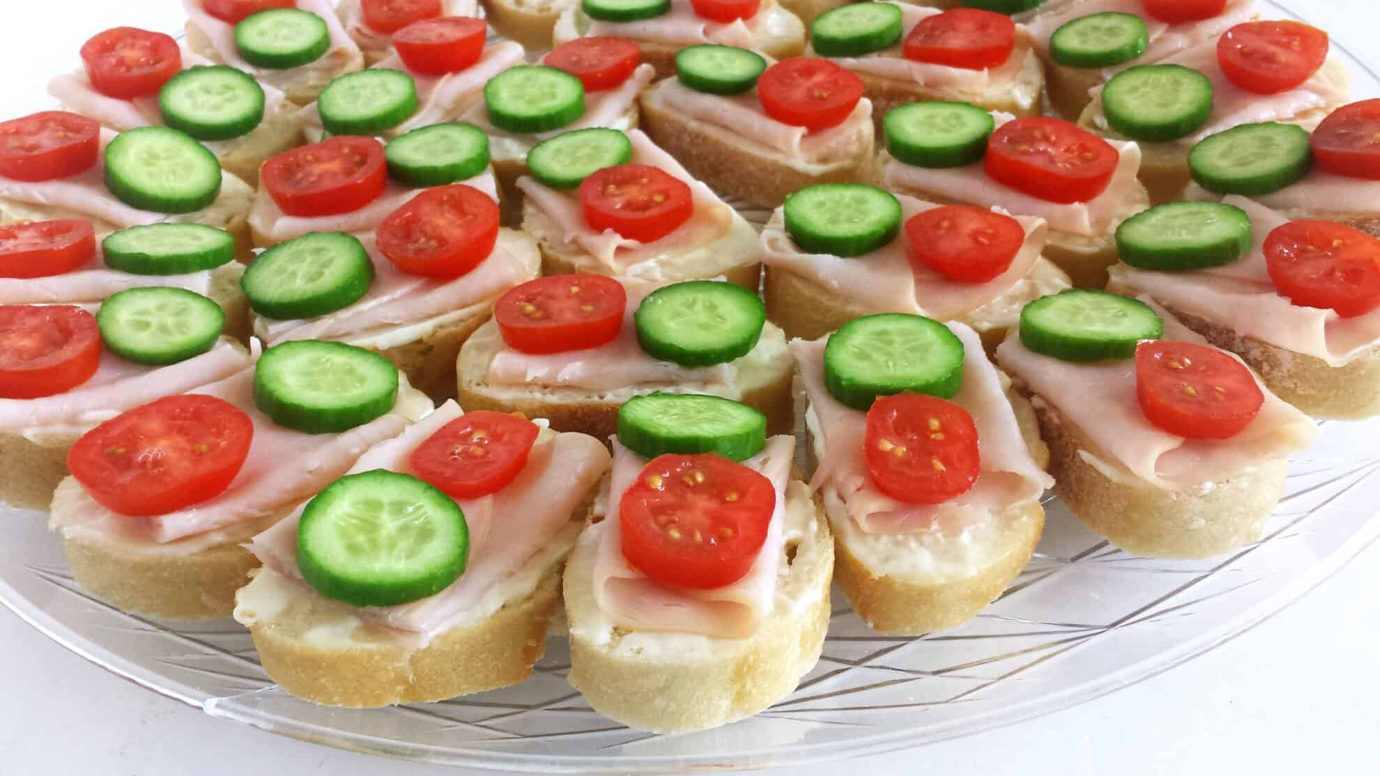 Canape L Smoked Turkey Canapes - Valya's Taste Of Home