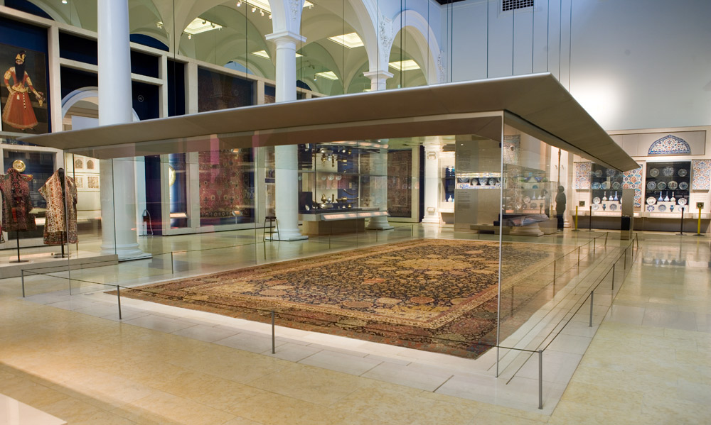 Gallery M Teppiche History Of The Ardabil Carpet - Victoria And Albert Museum