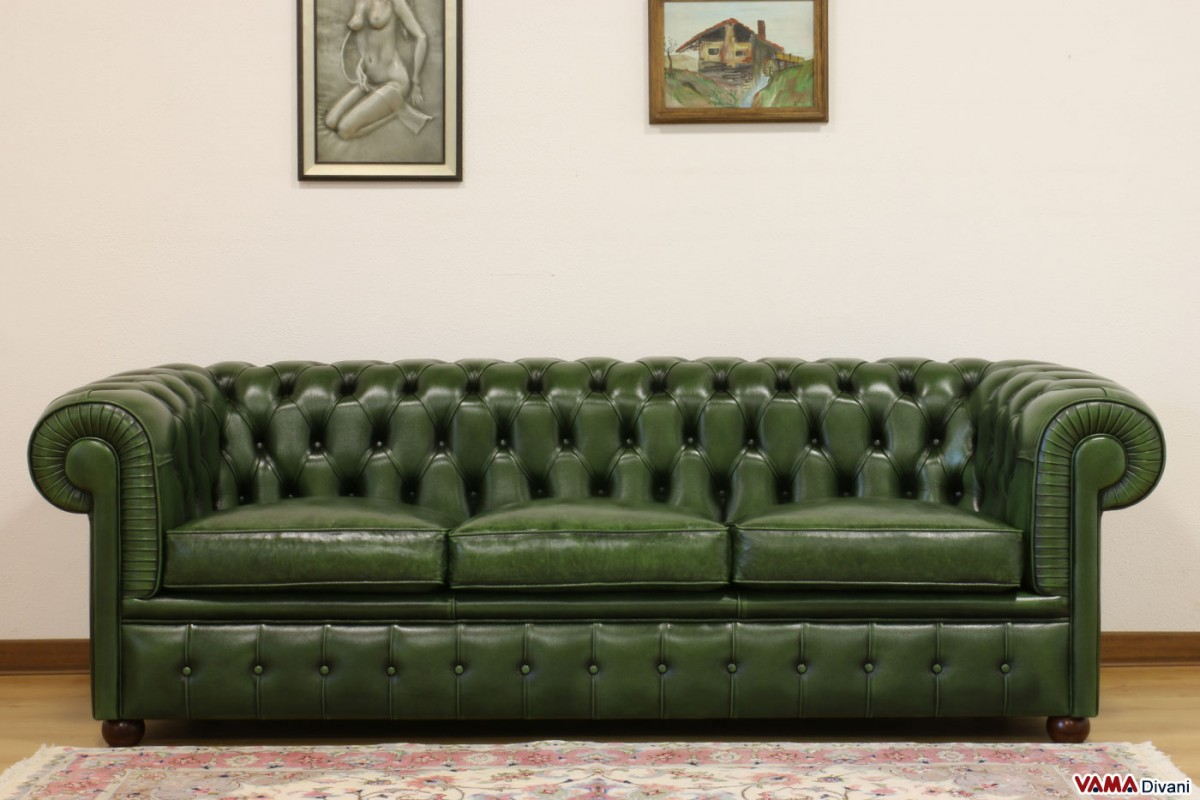 Green Settee Green Leather Chesterfield Sofa Fantastic Green Leather