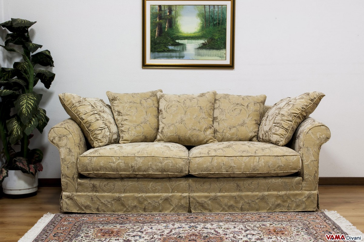 Ikea Roma Fabric Removable Cover Sofa Characterised By A Classic