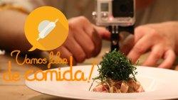 Video com os preparativos para uma noite gastronômica entre amigos. Vamos falar de Comida, Phiroza Gastronomia