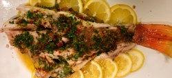 Peixe em Crosta de Sal Grosso