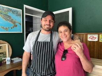 Antes de ir embora, um click com o Chef Stefano.