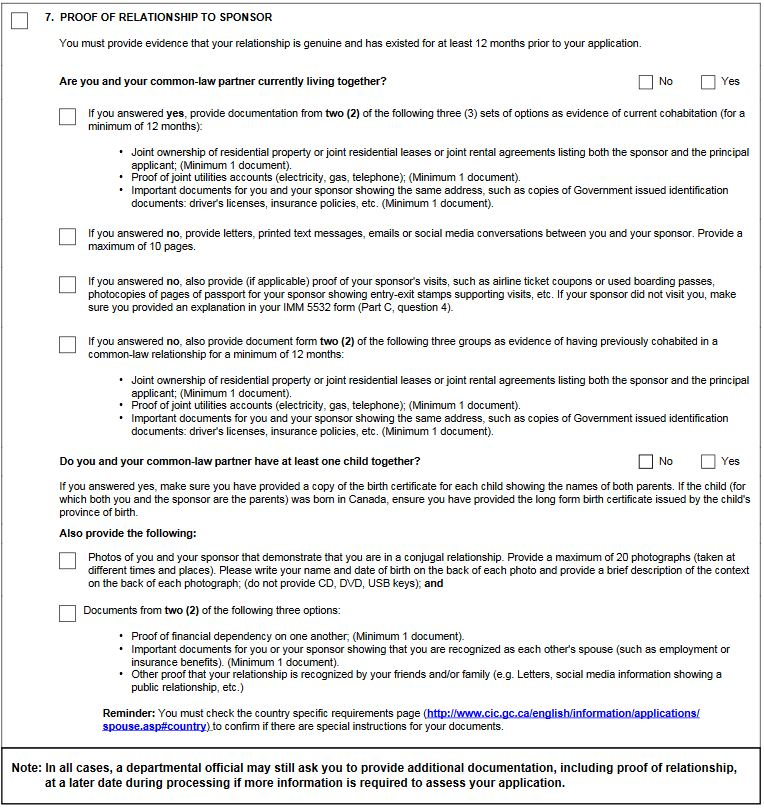 Canada\u0027s New Spousal Sponsorship Forms/Process - The Good, The Bad