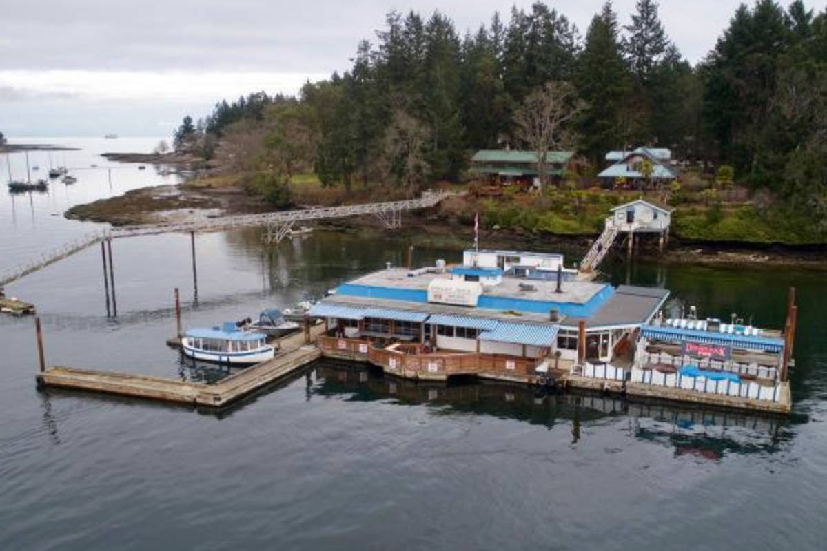 Dock Floats For Sale Canada S Only Registered Floating Pub For Sale Vancouver Island
