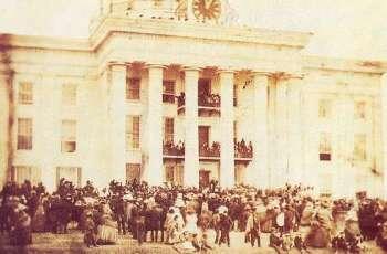 jefferson-davis-inauguratie-1861