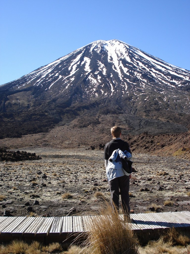 "Tongariro Crossing, ""Mt Doom"""