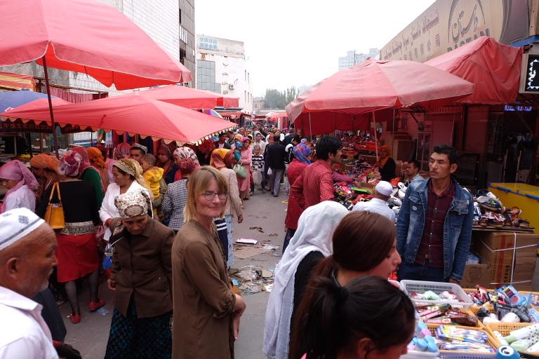 Bazaar van Kashgar